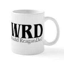 WWRD What Would Reagan Do Small Mug