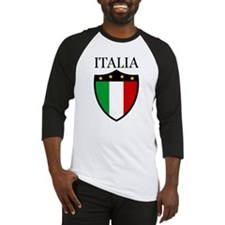 Italy - Crest Baseball Jersey