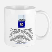 US Embassy Mug