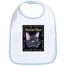 FPG Russian Blue Cat - Bib