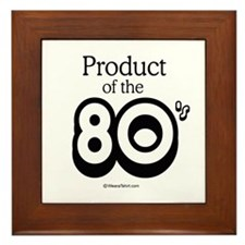 Product of the 80s - Framed Tile