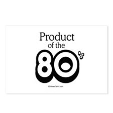 Product of the 80s -  Postcards (Package of 8)