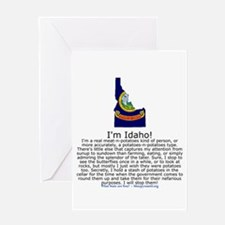 Idaho Greeting Card