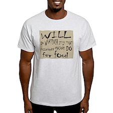 Homeless Philosopy Major T-Shirt