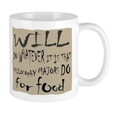 Homeless Philosopy Major Mug