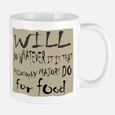Homeless Philosopy Major Mug