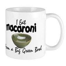 Macaroni From a Green Bowl Mug