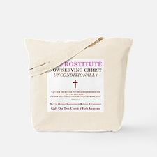 Ex-Prostitute Tote Bag