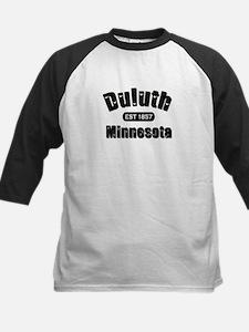 Duluth Established 1857 Kids Baseball Jersey