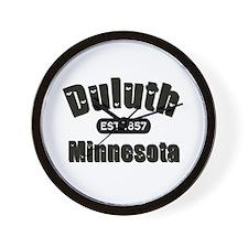 Duluth Established 1857 Wall Clock