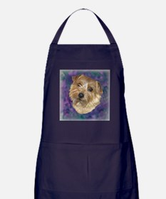 "Norfolk Terrier ""Sassy"" Apron (dark)"