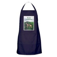 Cute Border walls Apron (dark)