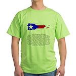 Puerto Rico Green T-Shirt