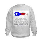Puerto Rico Kids Sweatshirt