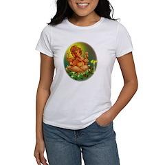 Golden Ganesh Women's T-Shirt
