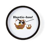 Hootie Hoo Wall Clock
