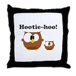 Hootie Hoo Throw Pillow