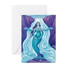 The Awakened Aphrodite Greeting Card