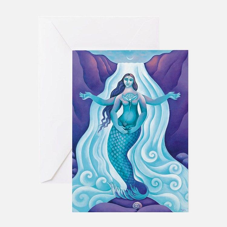 The Awakened Aphrodite Greeting Card