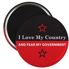 Fear My Government Magnet