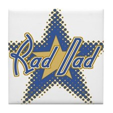 Rad Dad Tile Coaster