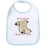 Genealogy Wish List Bib
