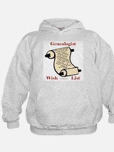 Genealogy Wish List Hoodie