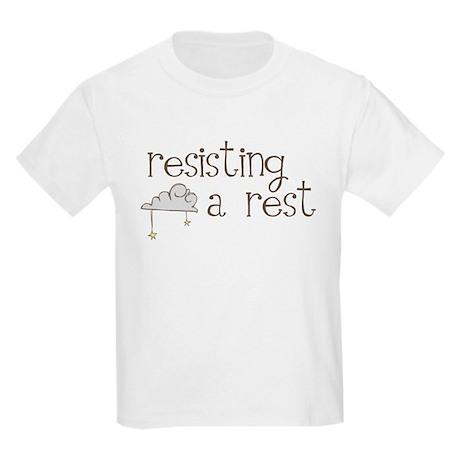 Resisting a Rest Kids Light T-Shirt