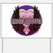 Twilight New Moon Crest Yard Sign