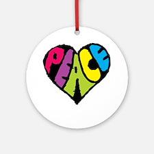 Dark Peace Ornament (Round)