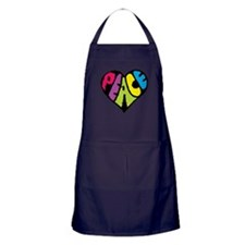Dark Peace Apron (dark)