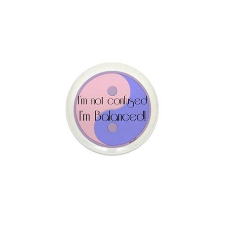 Not Confused... Balanced Mini Button (10 pack)