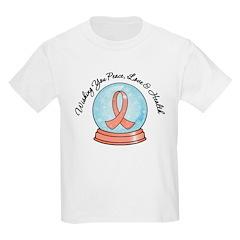 Endometrial CancerSnowglobe T-Shirt