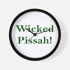 Wicked Pissah! Wall Clock