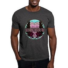 Twilight New Moon Crest Aqua T-Shirt