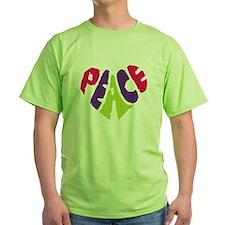 Light Peace Heart T-Shirt