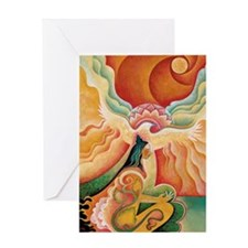 Golden Opening Greeting Cards