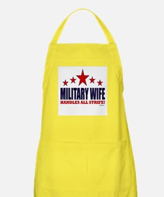 Military Wife Handles All Strife Apron