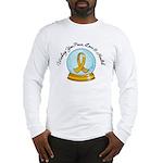 Appendix Cancer Snowglobe Long Sleeve T-Shirt