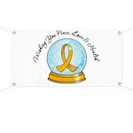 Appendix Cancer Snowglobe Banner