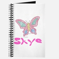 Pink Butterfly Skye Journal