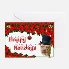 Holiday Top Hat Greeting Cards (Pk of 20)