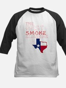 The Best Smoke Slingers In Texas B Baseball Jersey