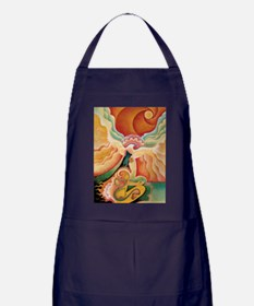 Golden Opening Apron (dark)