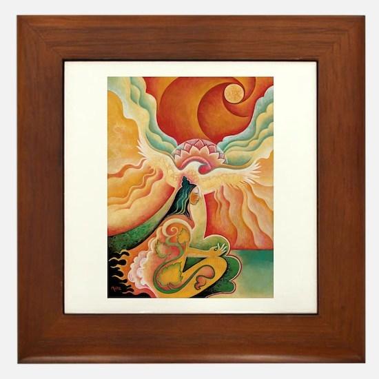 Golden Opening Framed Tile