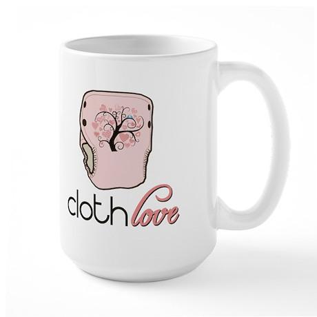 Cloth Love Large Mug