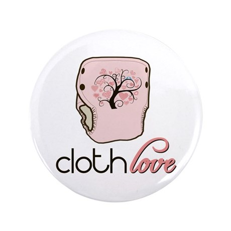 """Cloth Love 3.5"""" Button (100 pack)"""
