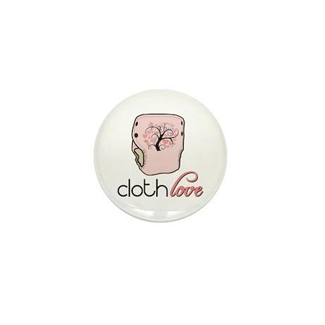 Cloth Love Mini Button (10 pack)