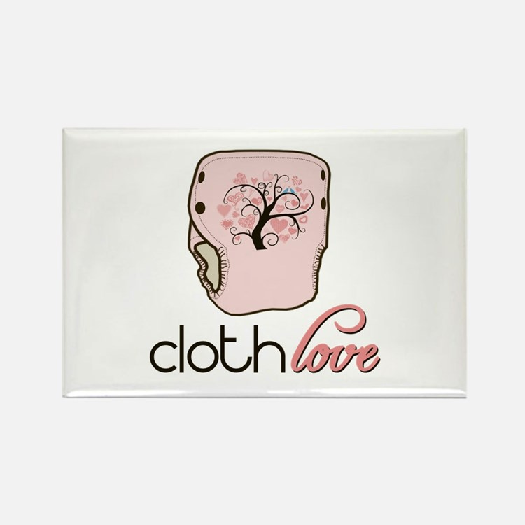 Cloth Love Rectangle Magnet