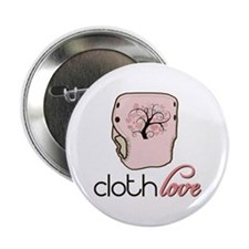 """Cloth Love 2.25"""" Button (100 pack)"""